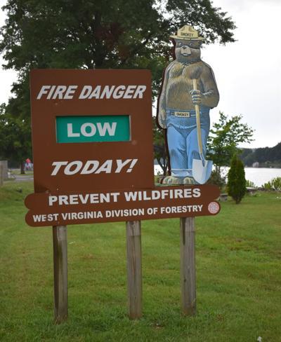 St. Albans Smokey Bear sign