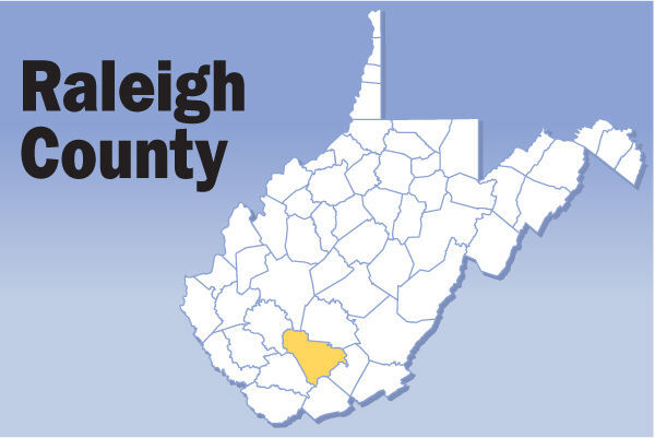 Raleigh County map