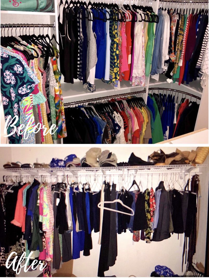 WV Design Team: Redesign Closet With Organization In Mind