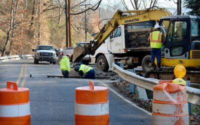 Road work file photo