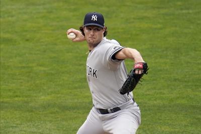 Yankees Twins Baseball GCole
