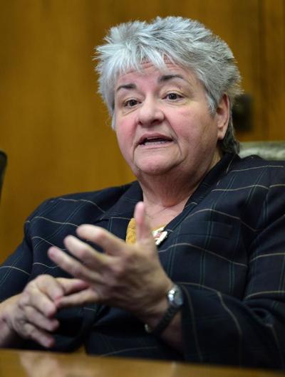 Democratic Party Chairwoman Belinda Biafore
