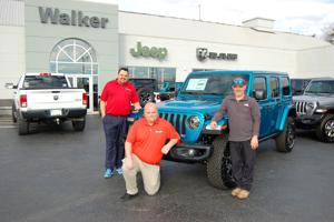 It's Jeep Wrangler weather at Walker Chrysler Dodge Jeep Ram in Hurricane.