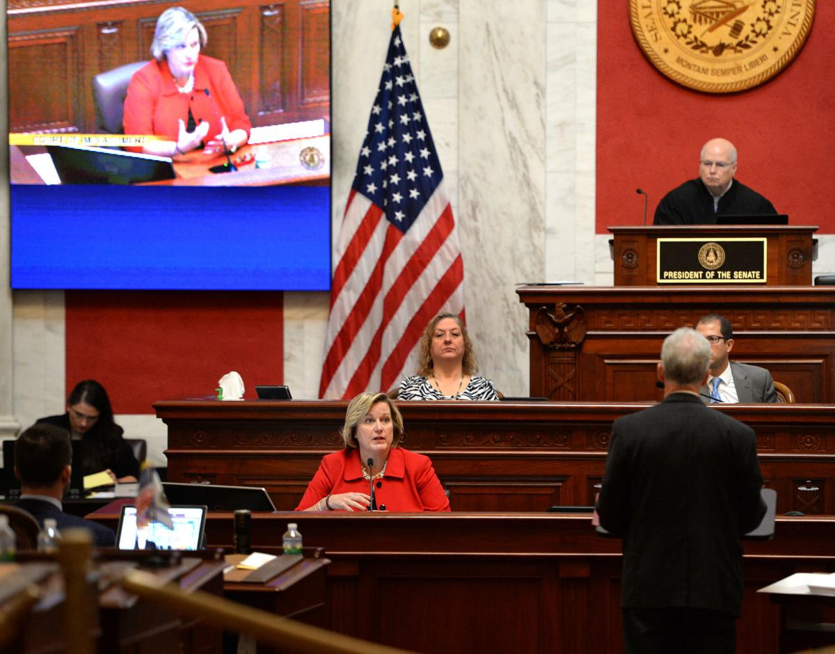 Justice Beth walker Impeachment Trial.