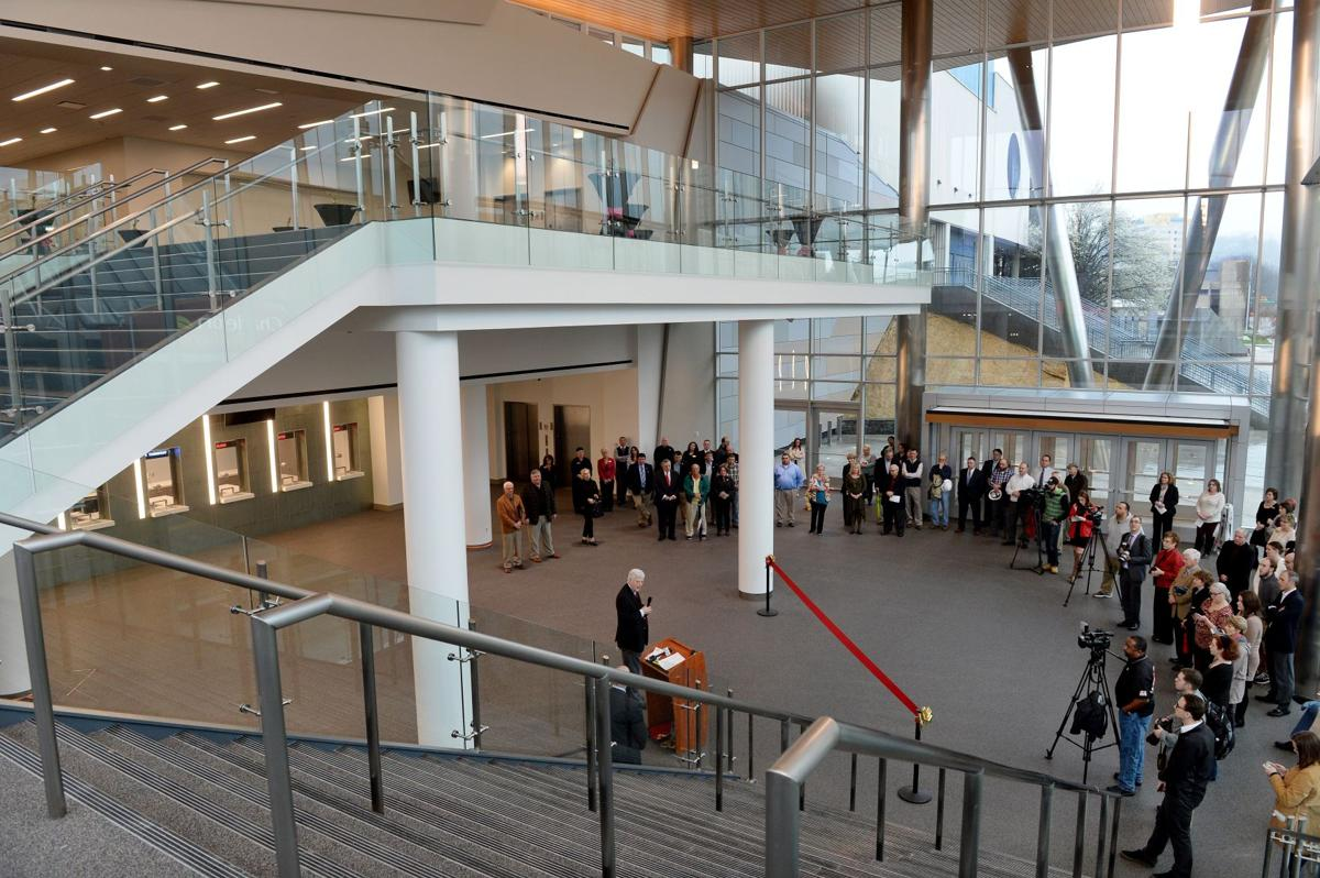 Charleston Civic Center opens new lobby; redo continues
