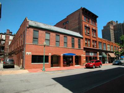 The building at 209 Hale Street is among those featured in the Space Walk