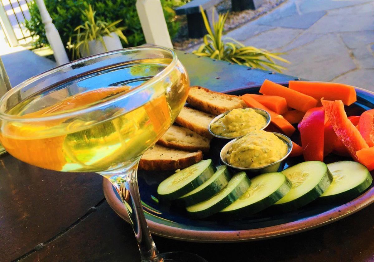 20210519-gm-foodguy_French 75 with Lemon-Herb Hummus Platter.jpg