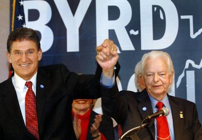 Robert C. Byrd, Joe Manchin