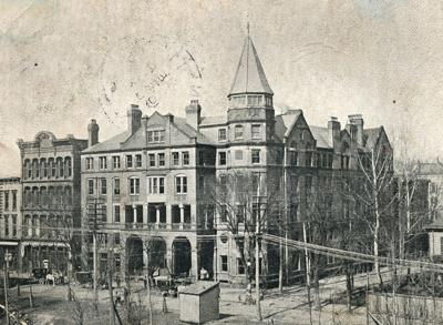 Vintage West Virginia: The Ruffner Hotel