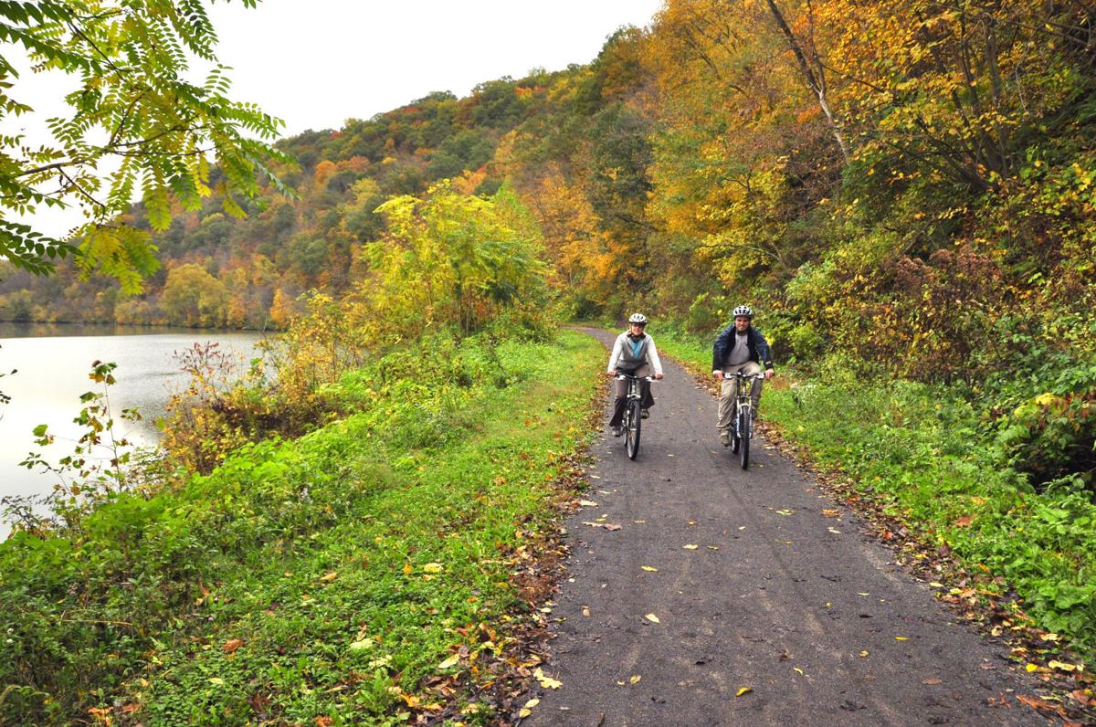Parkersburg to Pittsburgh rail trail