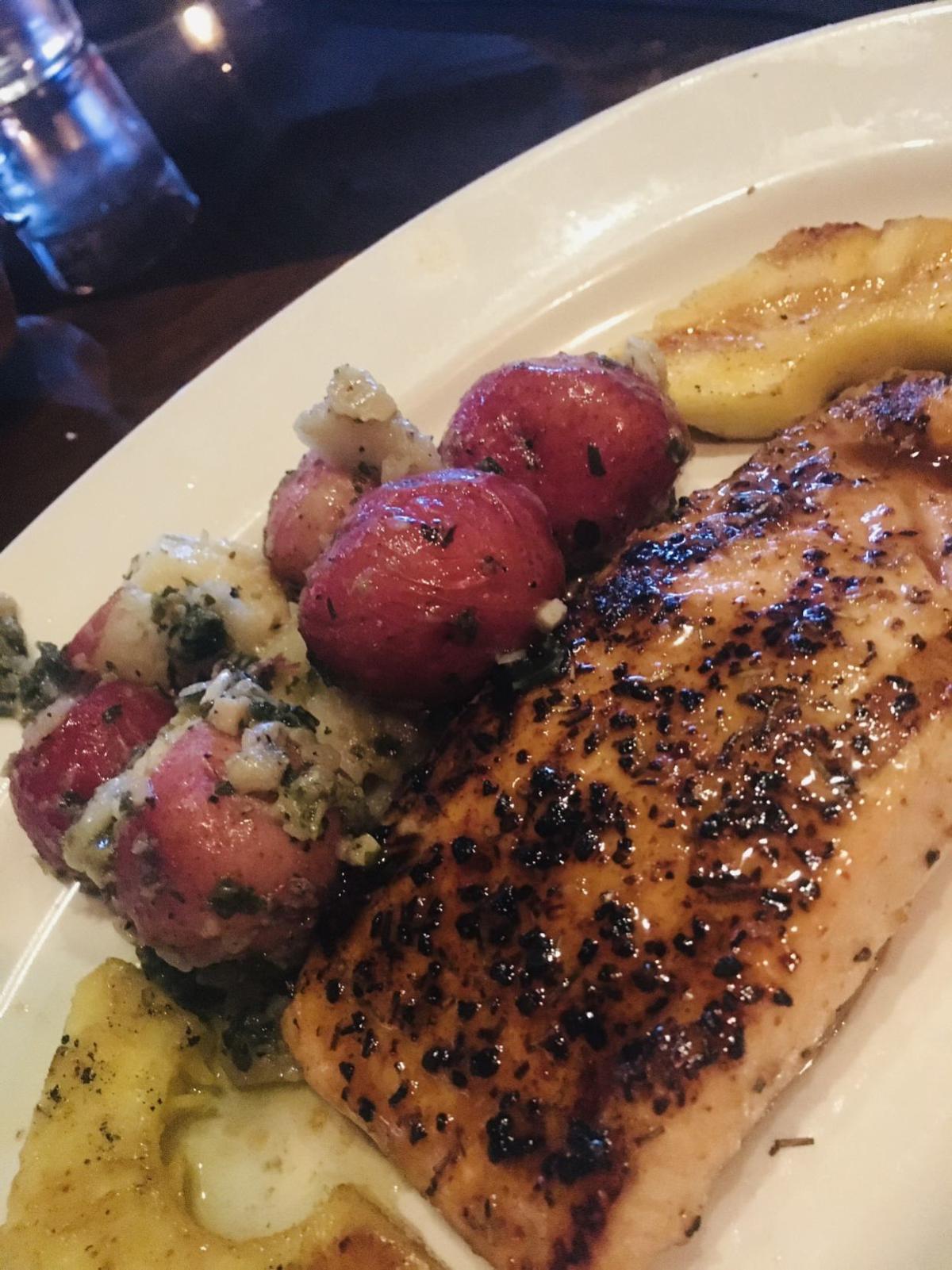 20200304-gm-food-guy-bourbon-glazed salmon w kale pesto red potatoes.jpg