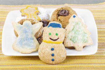 Snowman Holiday Cookie and Friends