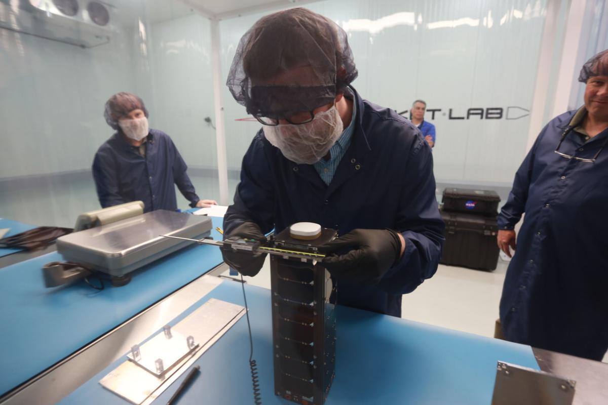 ELaNa 19 / Venture Class CubeSats - STF-1