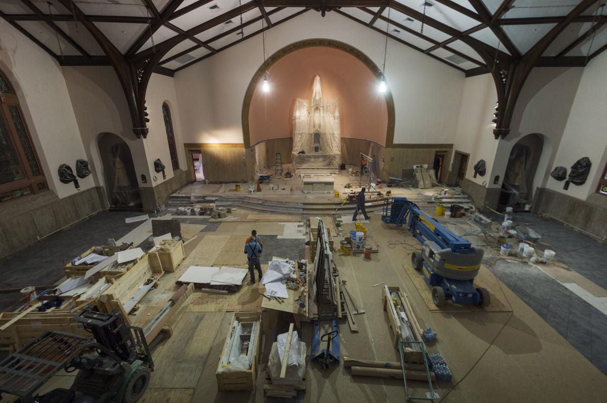 Co-Cathedral interior renovations