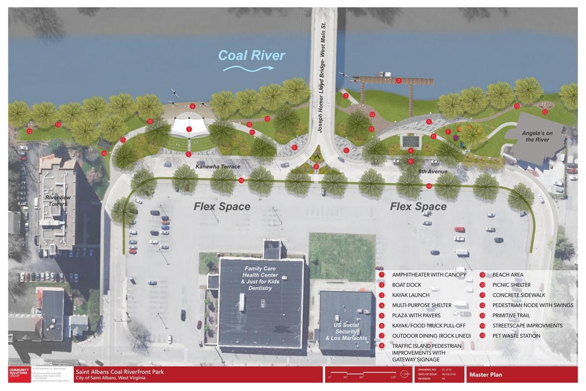 St Albans Riverfront Park Design Plan Wvgazettemail Com