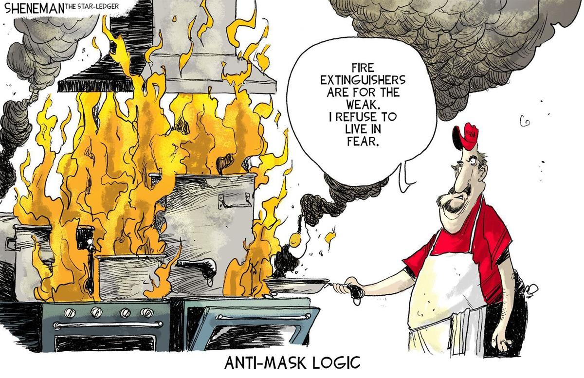 Gazette-Mail cartoon: September 25, 2021
