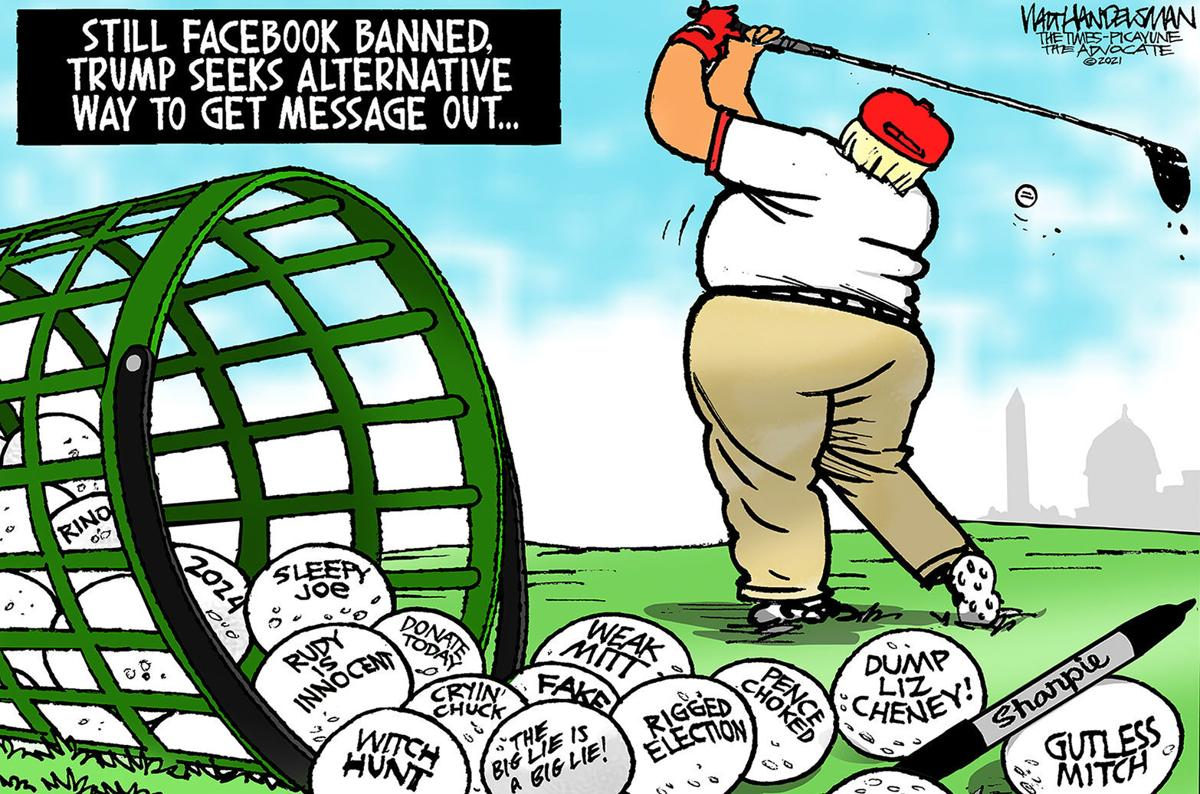 Gazette-Mail cartoon: May 11, 2021