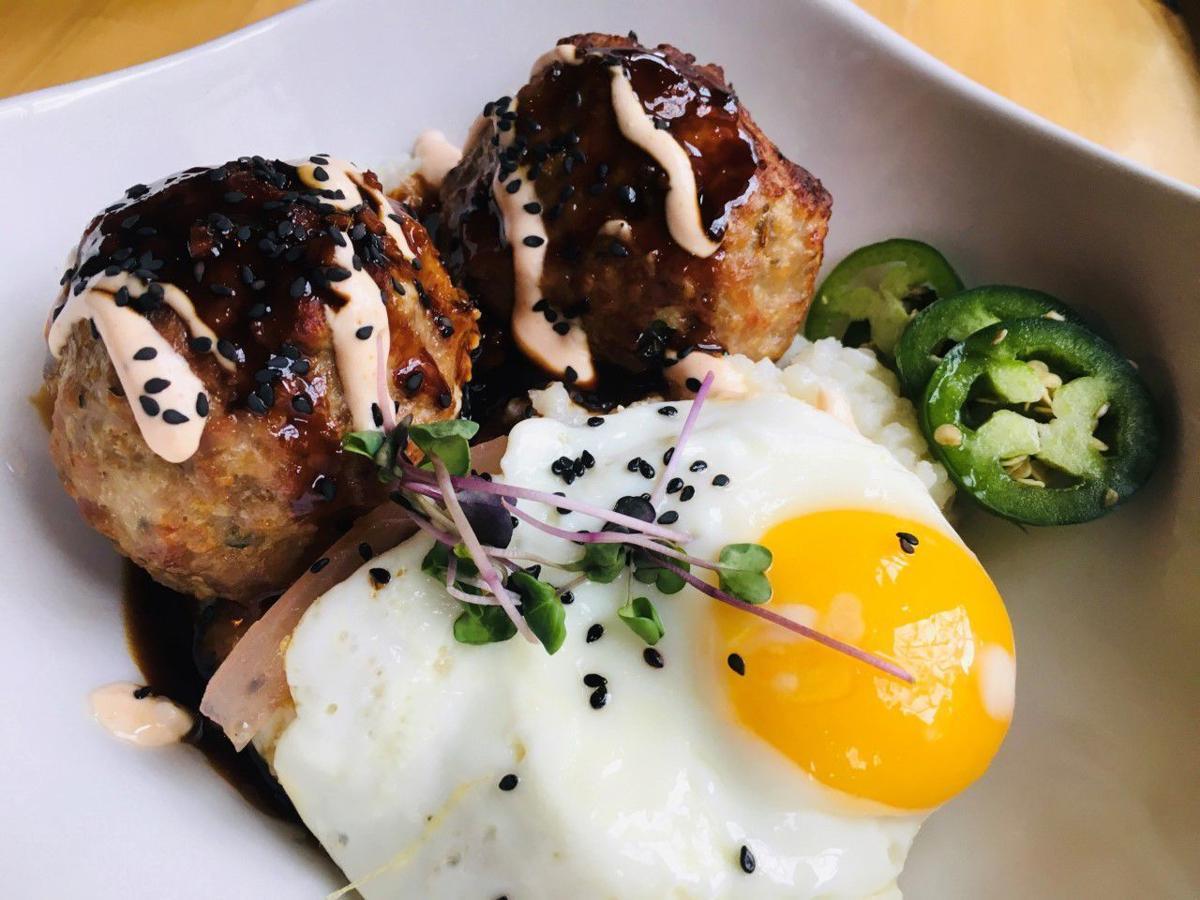20210414-gm-foodguy_Teriyaki Banh Mi Meatball Bowl from The Block - photo by Steven Keith.jpg