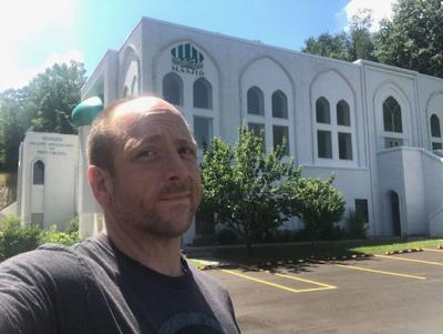 Bill at the Islamic Association of WV