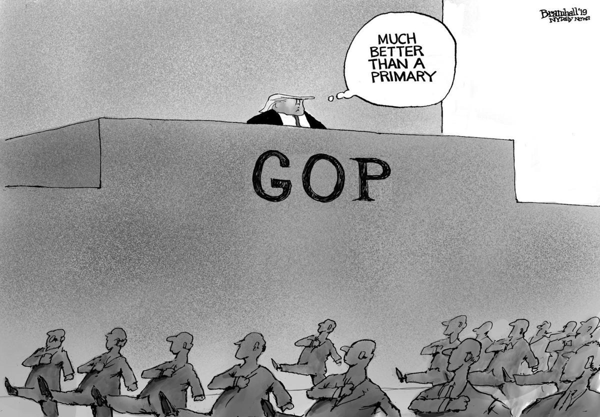 Gazette-Mail cartoon: September 18, 2019