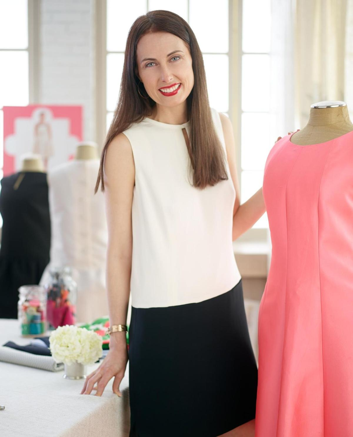 Fresh palette marks designer's spring fashions