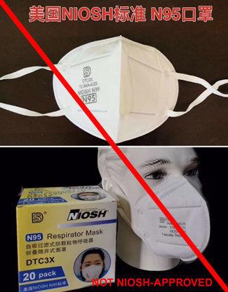 Counterfeit masks