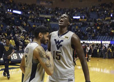 Virginia West Virginia Basketball