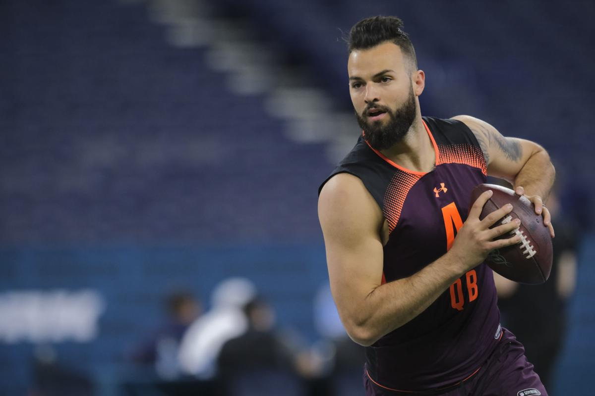 finest selection 9eb18 1c00e WVU football: Will Grier confident as ever at NFL Combine ...