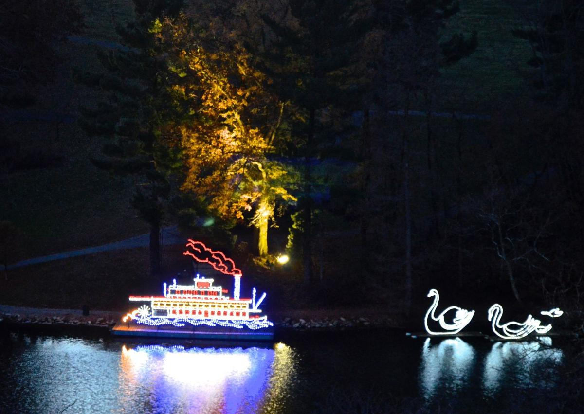 WV Travel Team: Oglebay light show an experience for which words can ...