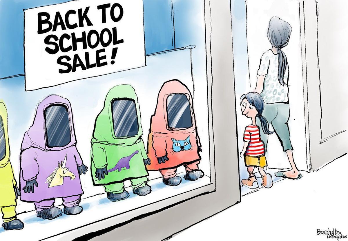 Gazette-Mail cartoon: July 12, 2020
