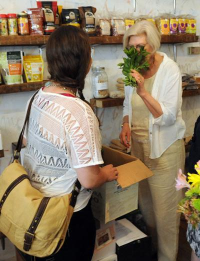 Subscribers get locally grown produce ready for weekly pickup