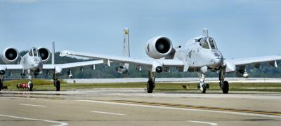 A-10's at Yeager Airport