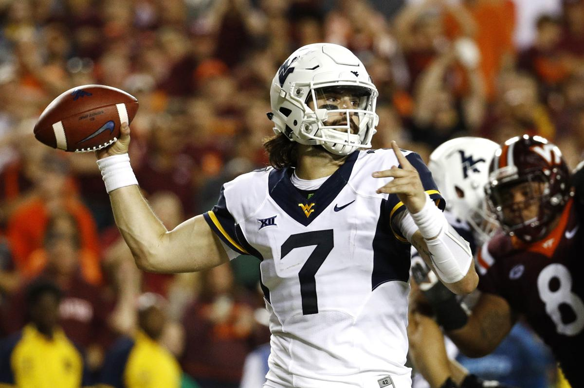 Plugged In Review >> New-look Will Grier wants to push WVU offense to new heights | WVU Gameday | wvgazettemail.com