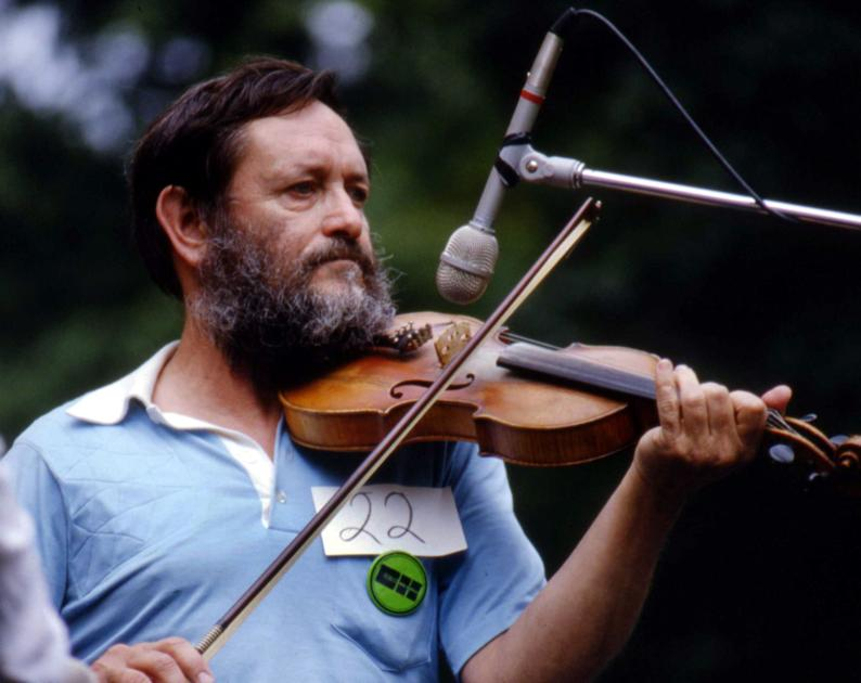 WV fiddler Frank George 'knew something about everything'