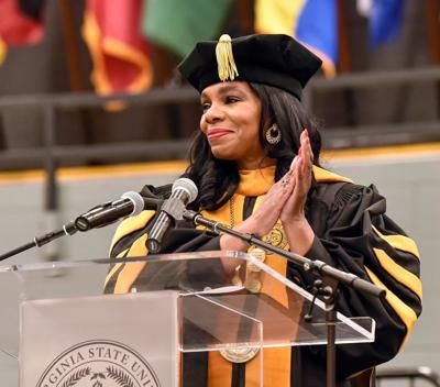 Congratulating the graduates (copy)