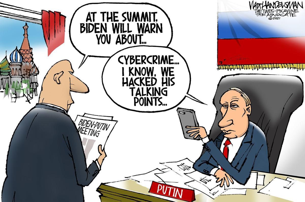 Gazette-Mail cartoon: June 14, 2021