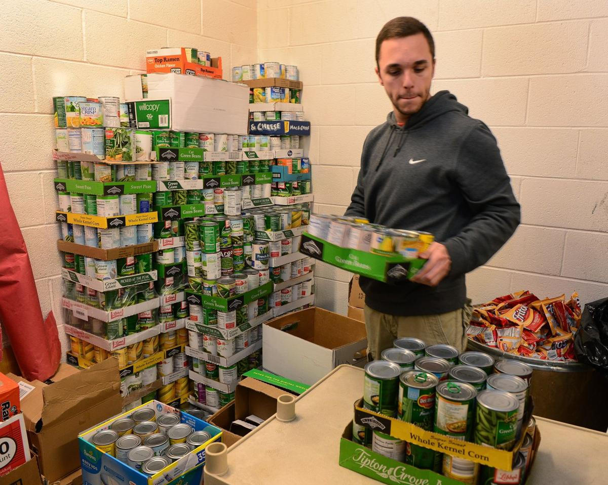School food pantries see students step up, benefit those in need