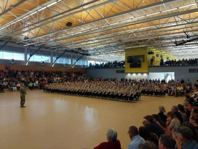 Mountaineer Challenge Academy graduation