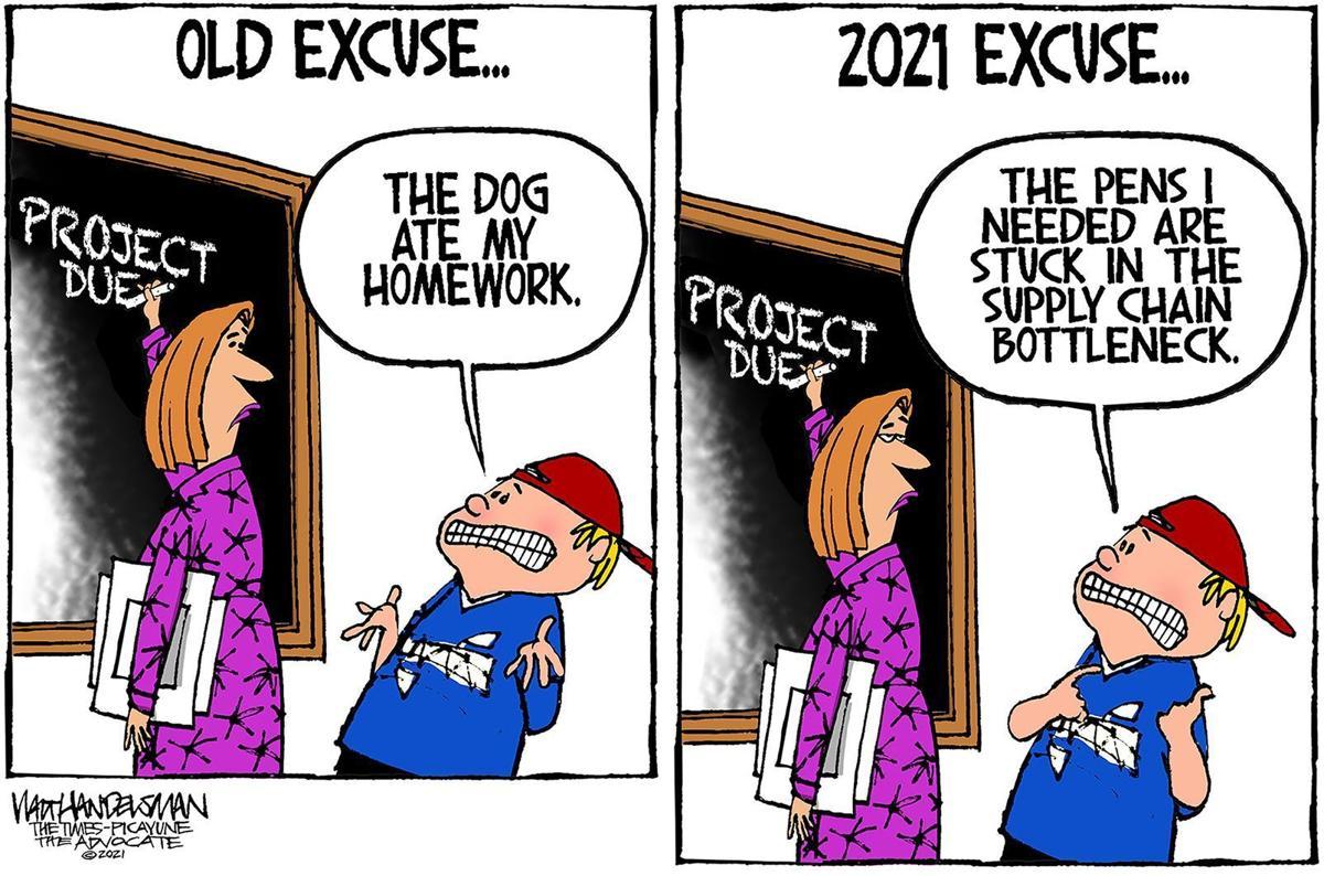 Gazette-Mail cartoon: October 21, 2021