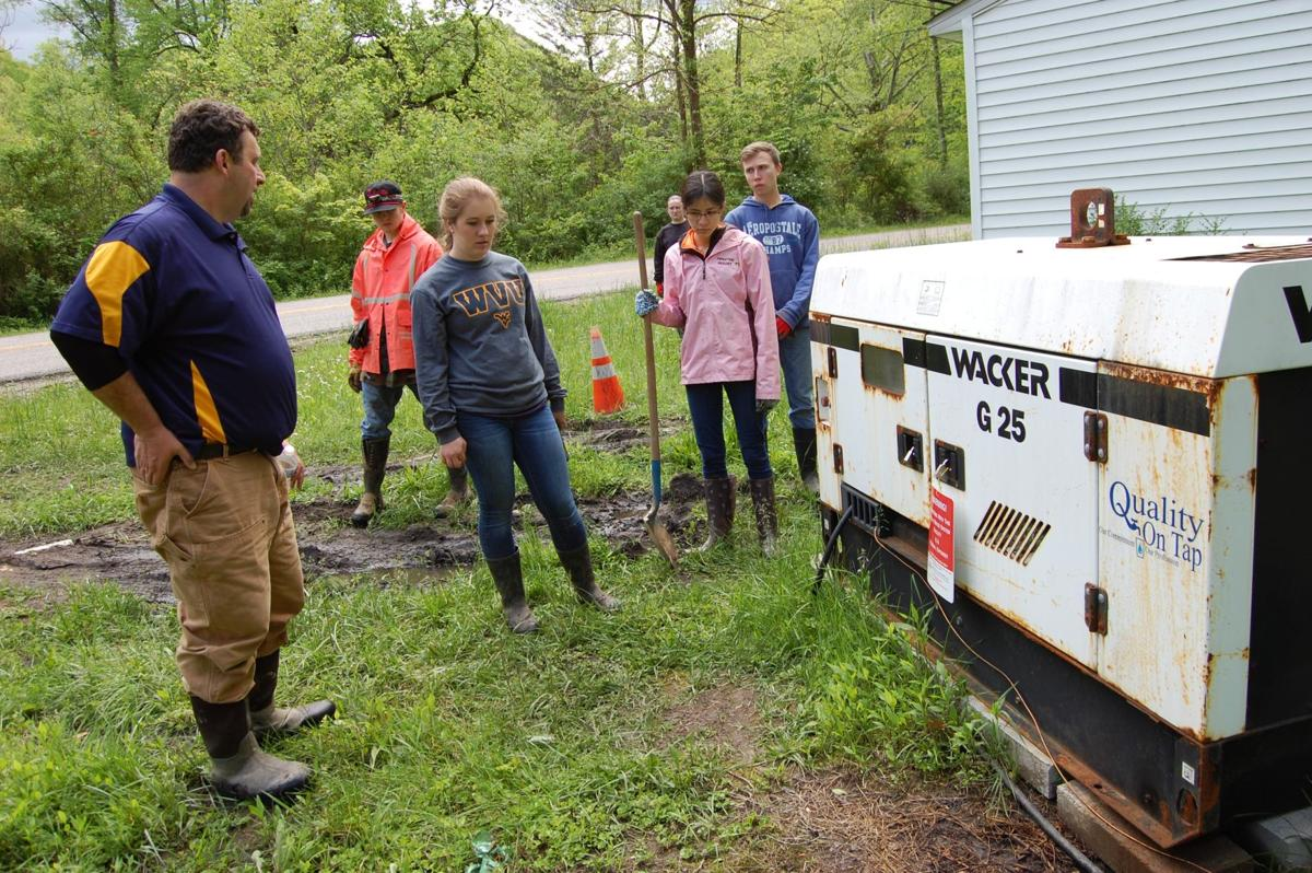 WVU engineering students help small WV community improve water quality