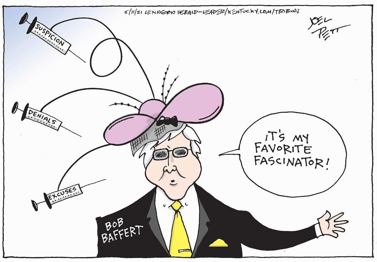 Gazette-Mail cartoon: May 12, 2021