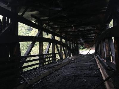 WV DOT to soon decide fate of burned Carrollton Covered