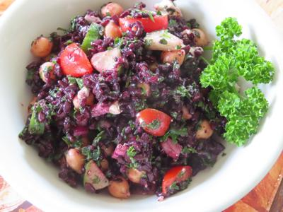 Black Rice Tabbouleh/5.27.20farmerstable