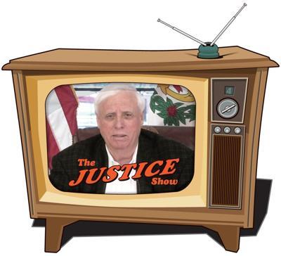 Jim Justice TV graphic