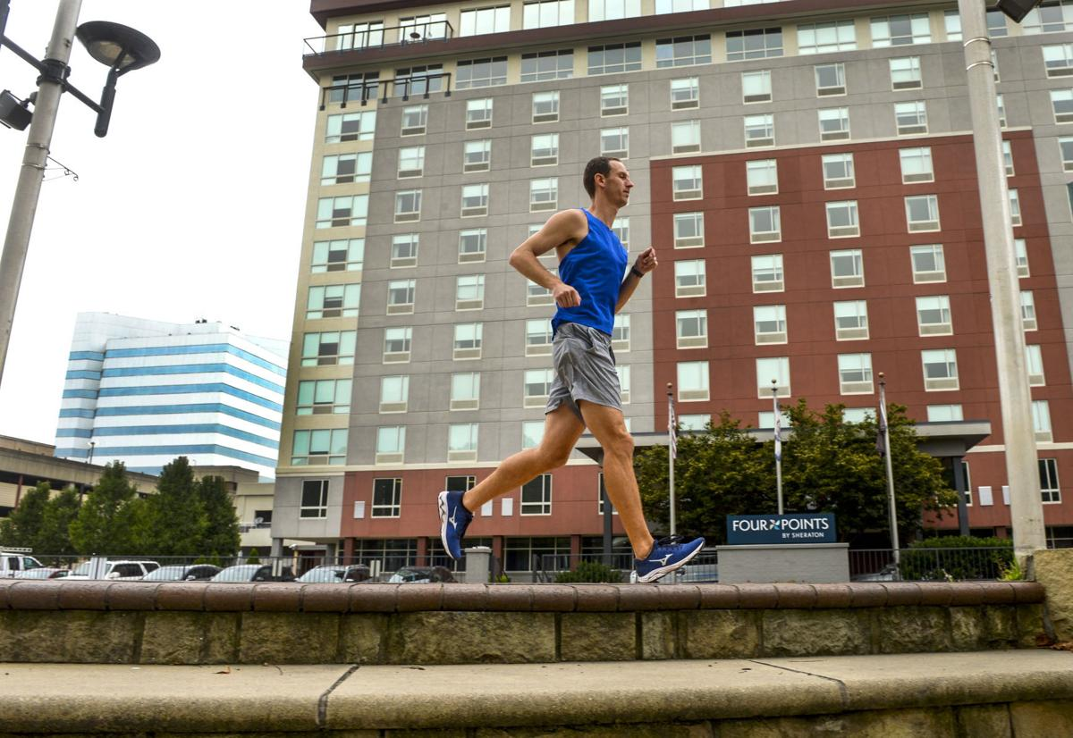 Runner Andrew Dawson