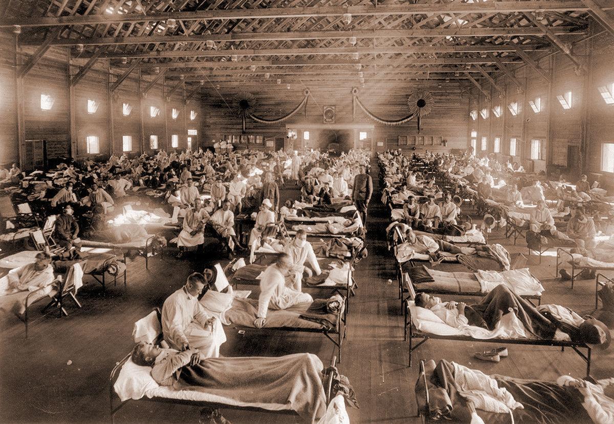 1918 emergency hospital