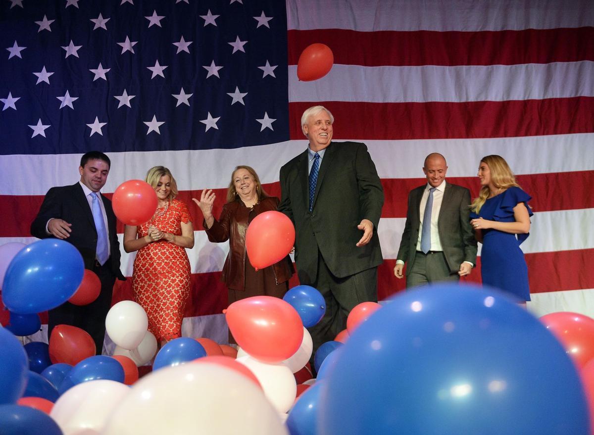 Jim Justice wins WV gubernatorial race