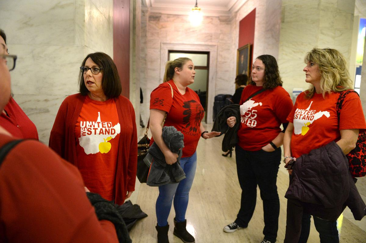 WV school workers organizing against education overhaul bill