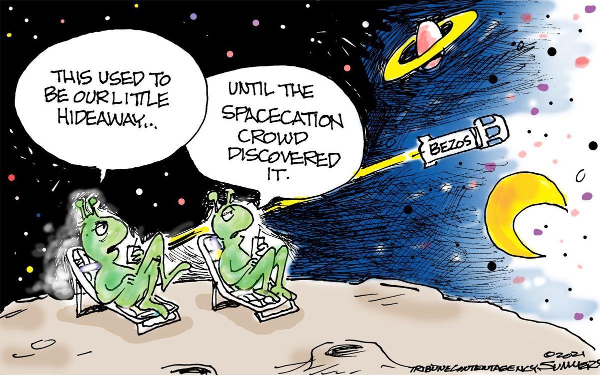 Gazette-Mail cartoon: July 24, 2021