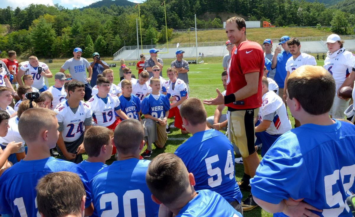 Herbert Hoover, Elkview football teams meet New Orleans Saints